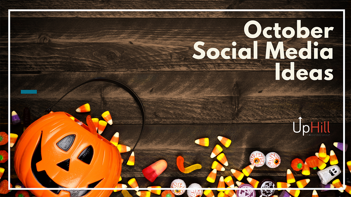 October social media ideas